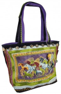 Mythical Horses Tote Bag