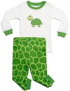 Turtle pajamas for kids