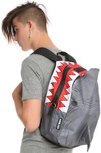 shark fin backpack