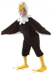Bald Eagle Kids Costume