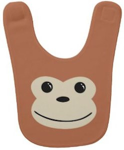 Monkey Face Bib