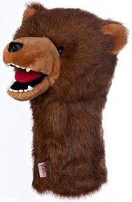 Grizzly Bear Golf Club Head Cover
