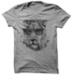 Lion Wearing Sunglasses T-Shirt