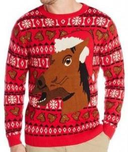 Horse Head Ugly Sweater