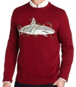 Shark Ugly Christmas Sweater