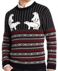 Polar Bears Humping Ugly Christmas Sweater