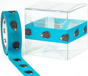 Blue Hedgehog Washi Tape