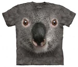Realistic Koala Face T-Shirt