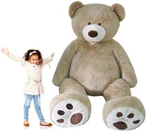 Jumbo 8 Foot Stuffed Teddy Bear