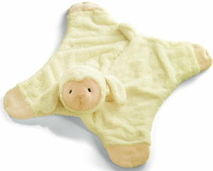Lamb GUND Baby Blanket