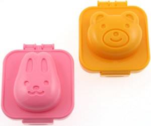 Bunny And Bear Egg Mold's