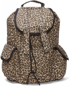 Cheetah Animal Print Backpack